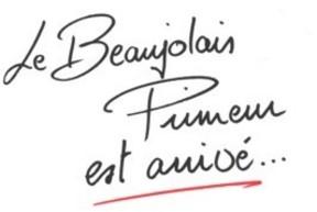 Le Beaujolais nouveau est arrivée!